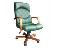Кресло Стиль Гермес дерево для руководителя
