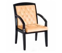 Кресло Стиль Кент люкс дерево для посетителя