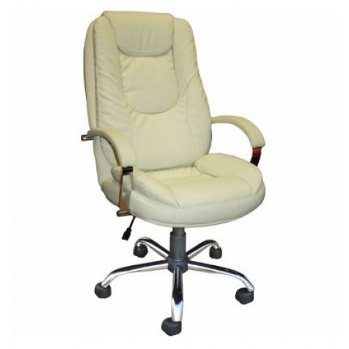 Кресло Стиль Сатурн хром для руководителя