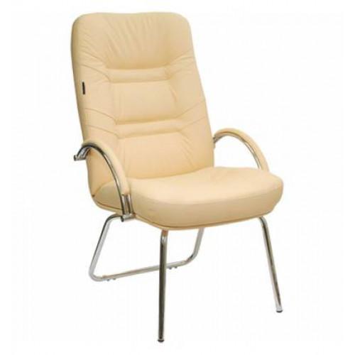 Кресло Стиль Амбассадор/О хром для посетителя