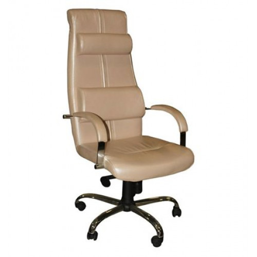 Кресло Стиль Арамис хром для руководителя