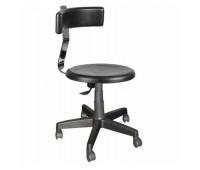 Кресло Стиль Табурет со спинкой пластик для оператора