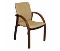 Кресло Стиль Джуна люкс дерево для посетителя